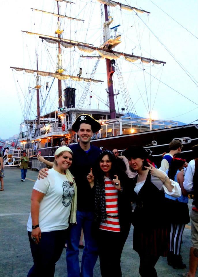 #adventure #Busan #PirateShipParty