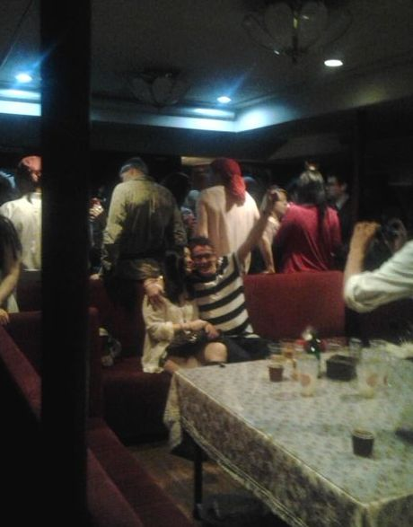 Inside the Busan Pirate Ship Party in Korea