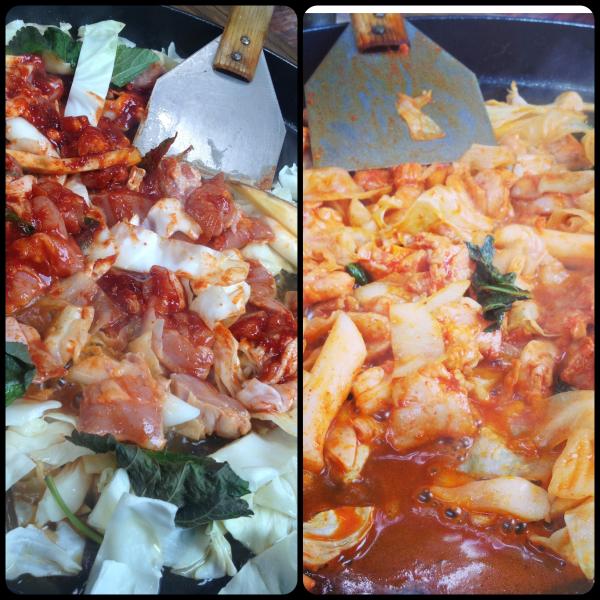 chuncheon dakgalbi dak galbi korea korean food