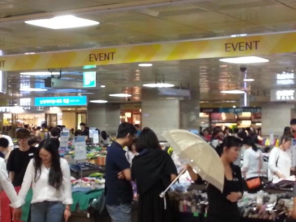 teach and travel korea, teach english, teach aclipse, shopping in south korea