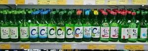 drinking in Korea