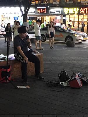 music scene in Busan