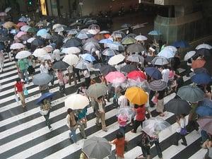 monsoon season in Korea