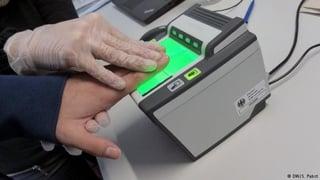 Getting your fingerprints taken to teach in Korea