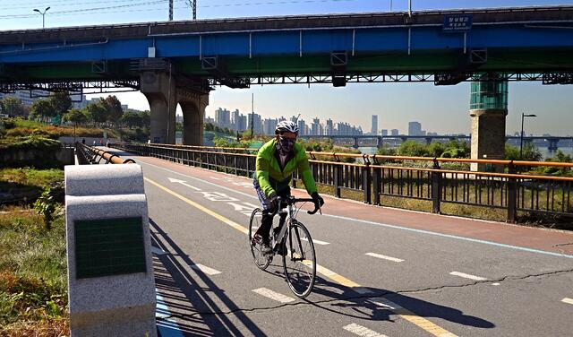 Biking the Bike Lans of Seoul