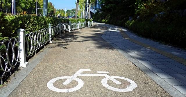 Seoul bike lanes