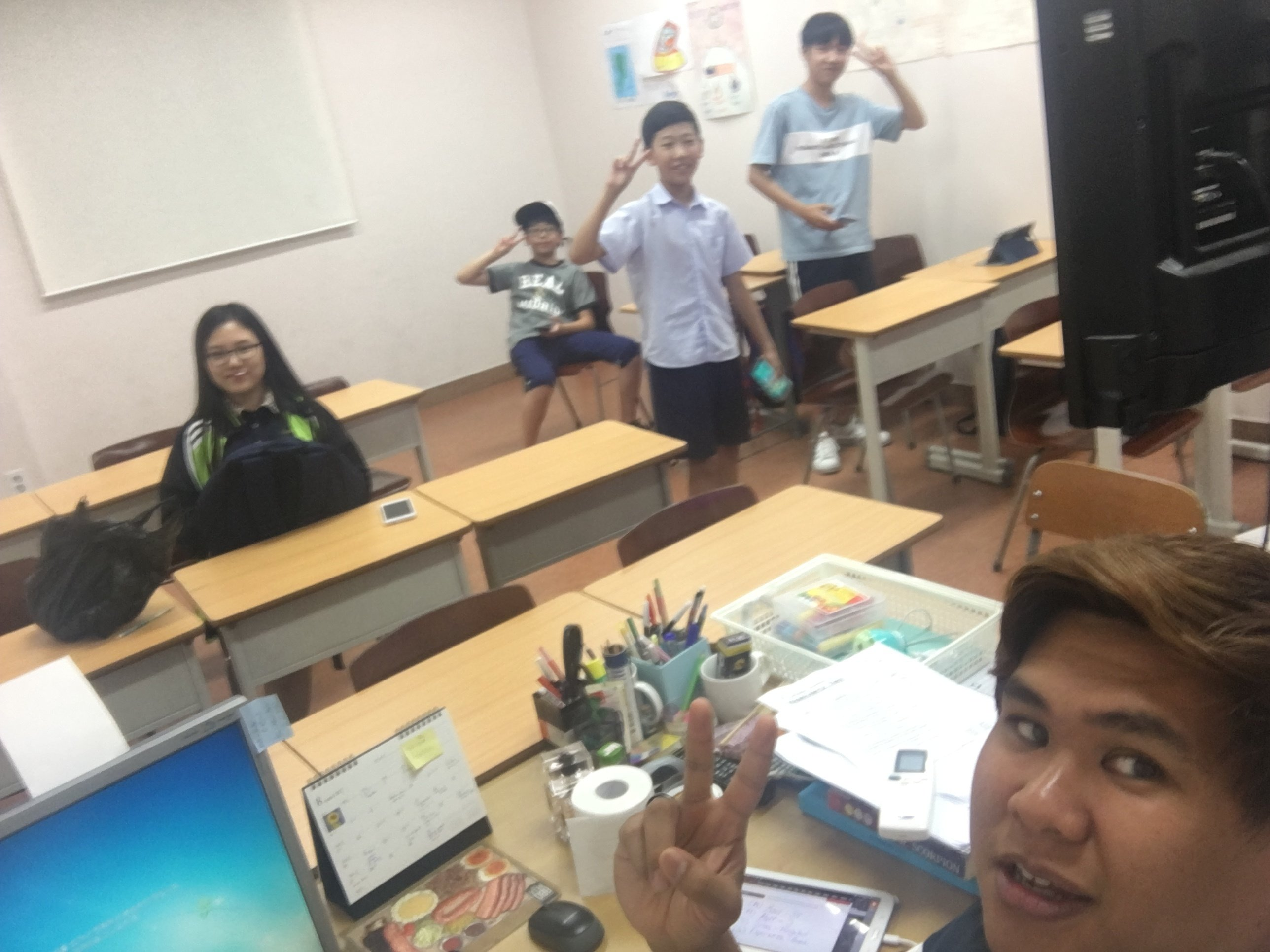teaching in Korea