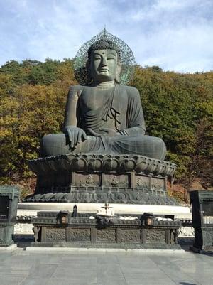 Big Buddah Statue at Singheungsa, Soraksan National Park