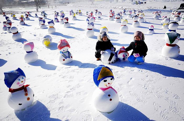 Korea winter