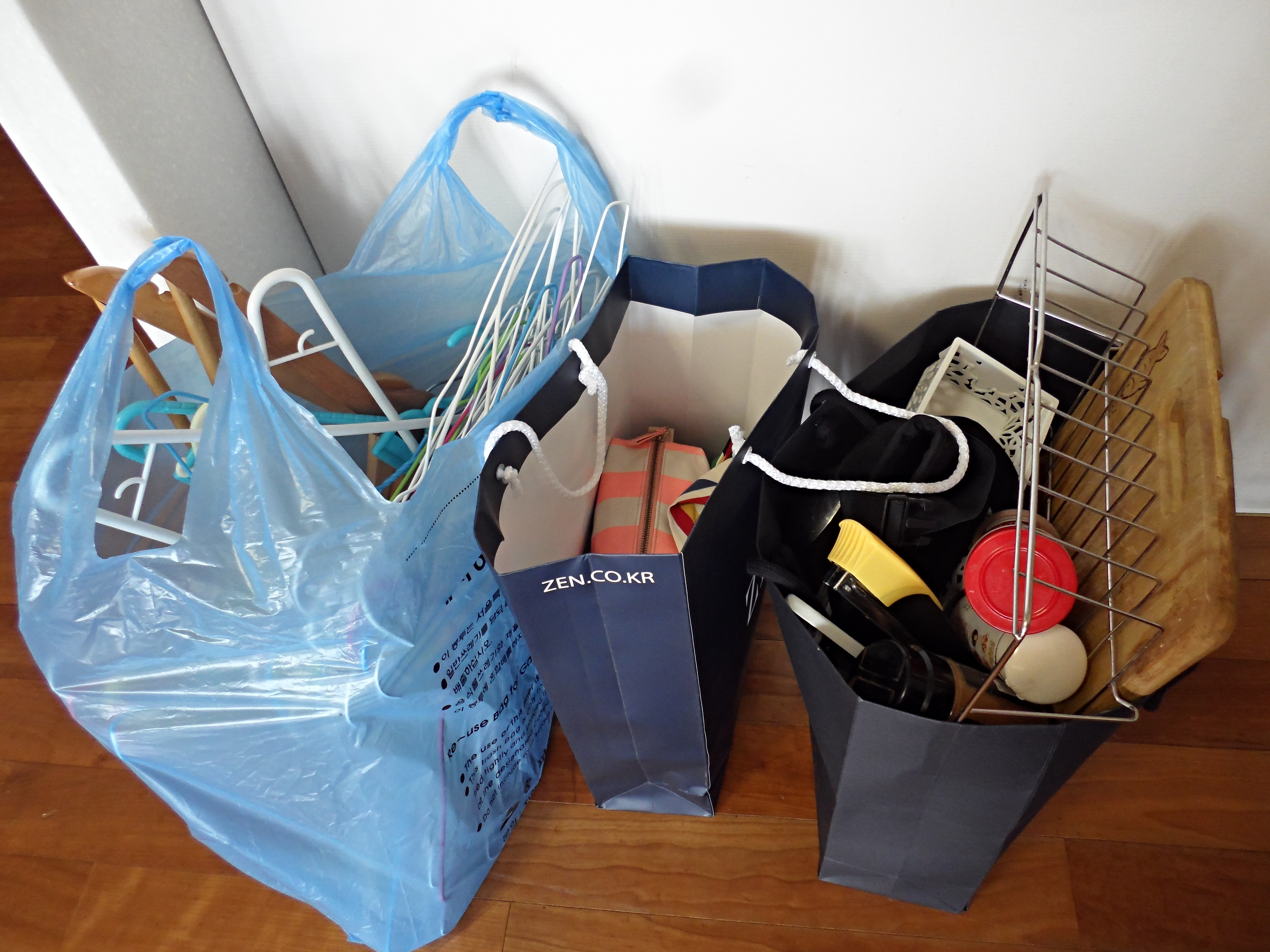 Selling goods and spring cleaning