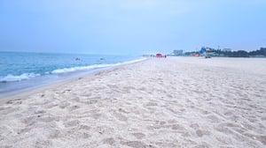 Naksan Beach, just outside Sokcho, Gangwondo