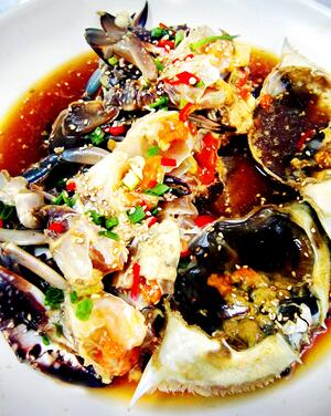 Eat crab in Sokcho, Seafood is especially delicious on the East coast