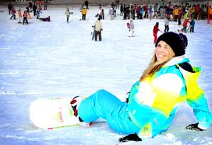 Go skiing in Gangwondo province!
