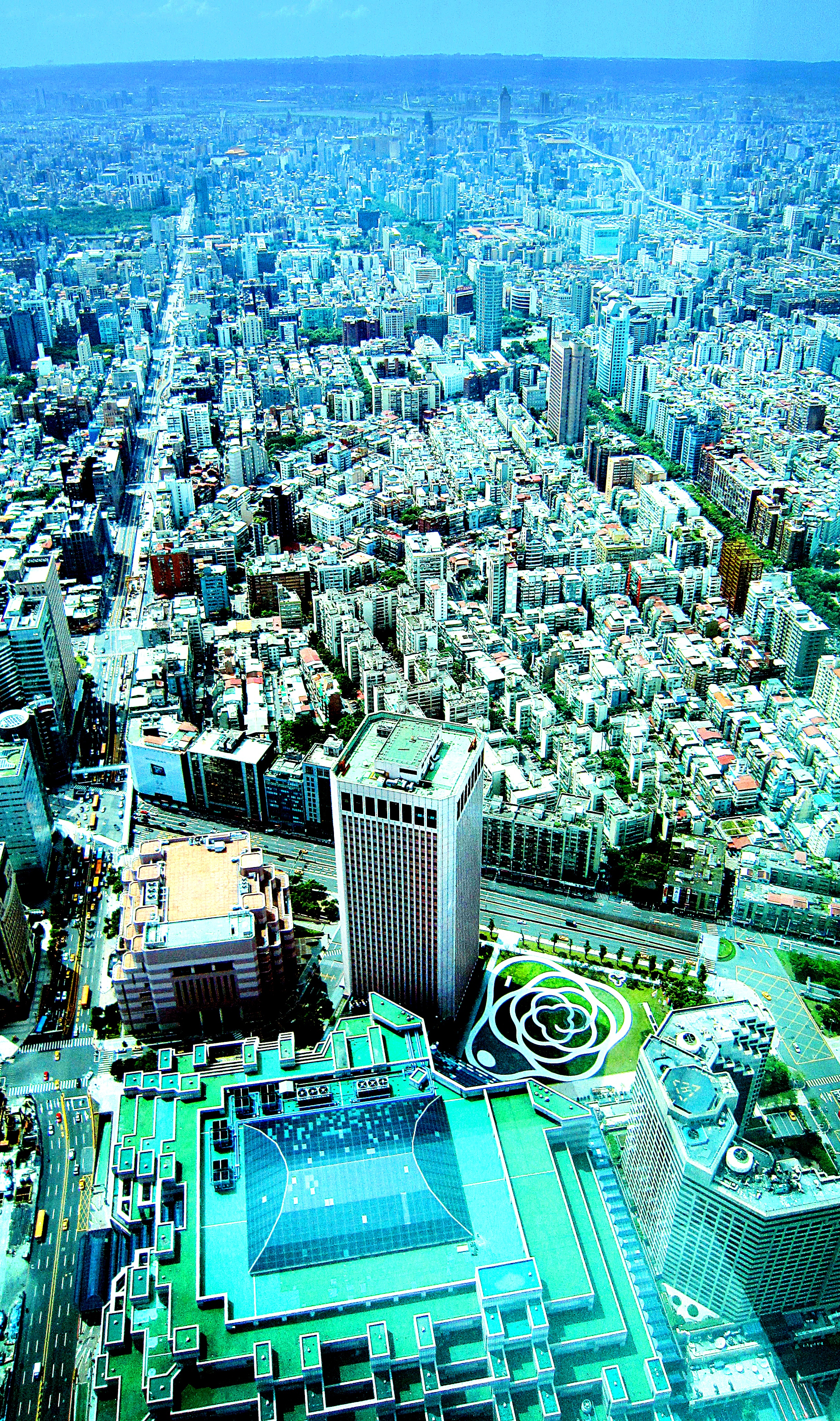 View from the Taipei 101, Taiwan