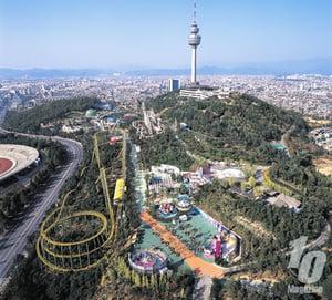 Woobang Tower in Daegu